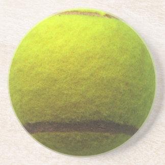 Práctico de costa de la pelota de tenis apoyavasos