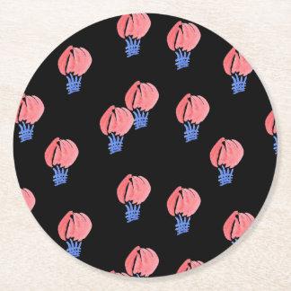 Práctico de costa de papel redondo de los balones posavasos de papel redondo