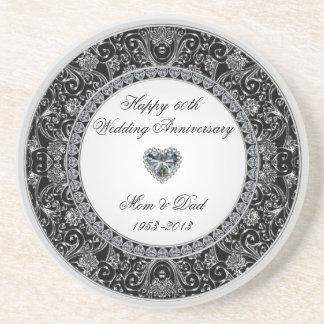 Práctico de costa del aniversario de boda de diama apoyavasos
