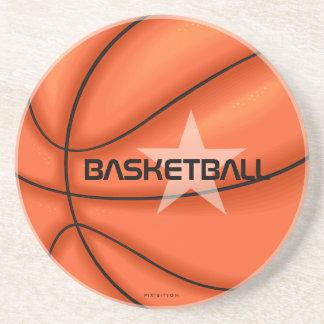 Práctico de costa del baloncesto apoyavasos