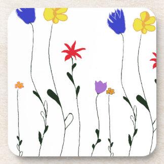 Práctico de costa del corcho de las flores posavaso