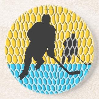 Práctico de costa del hockey portavasos