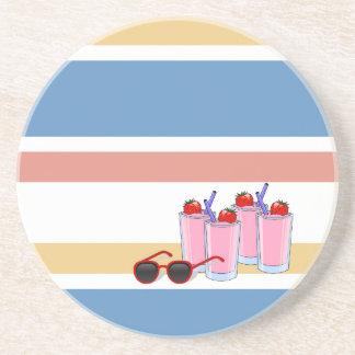Práctico de costa del personalizado de la diversió posavasos para bebidas