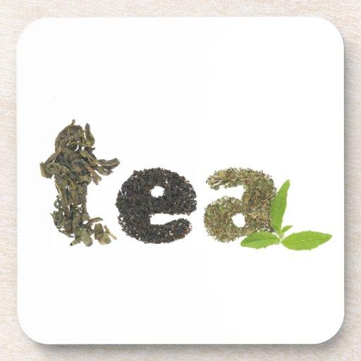 Práctico de costa del té posavasos