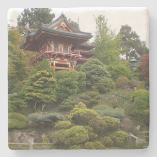 Práctico de costa japonés del jardín de té de San Posavasos De Piedra