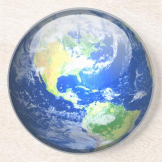 Práctico de costa planetario - tierra portavasos