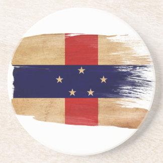 Prácticos de costa de la bandera de Antillas holan Posavasos Manualidades