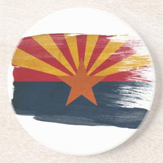 Prácticos de costa de la bandera de Arizona Posavasos Manualidades