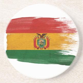 Prácticos de costa de la bandera de Bolivia Posavasos Manualidades