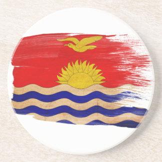 Prácticos de costa de la bandera de Kiribati Posavasos Manualidades