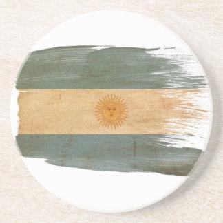 Prácticos de costa de la bandera de la Argentina Posavasos De Arenisca