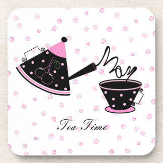 Prácticos de costa del tiempo del té de la mamá posavasos de bebidas