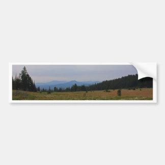Prado de la montaña de Oregon Pegatina Para Coche