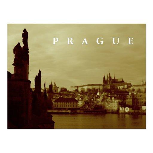 Praga Tarjeta Postal