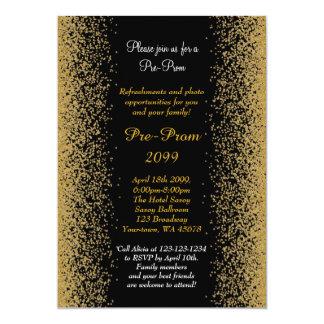 Pre baile de fin de curso, Pre-Baile de fin de Invitación 12,7 X 17,8 Cm