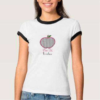Pre camisa del profesor de K - guinga gris Apple