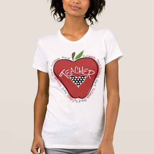 Pre camisa roja de Apple del profesor de K