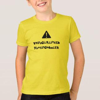 ¡PRECAUCIÓN! Unsocialized Homeschooler Camiseta