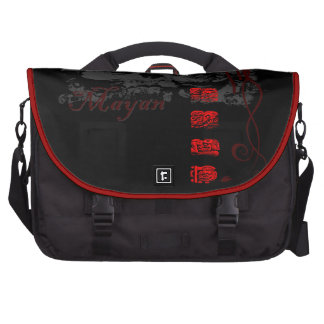 Predicción maya #2 bolsas para portatil