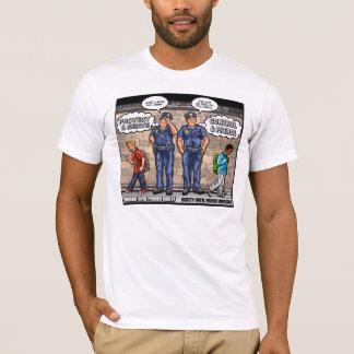 Predjudice racial expuesto camiseta