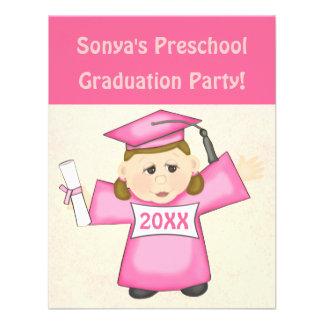 Preescolar de los chicas/fiesta de graduación de l comunicado