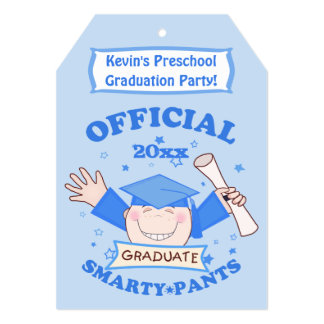 Preescolar de los muchachos/fiesta de graduación