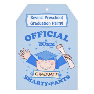Preescolar de los muchachos fiesta de graduación comunicados personales
