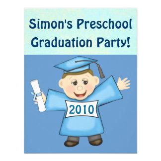 Preescolar de los muchachos fiesta de graduación comunicado
