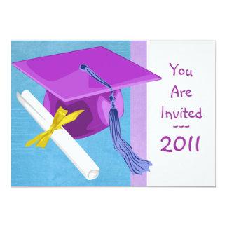 Preescolar o invitación de la graduación de la