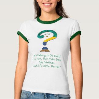 Pregunta de salud - camisa chistosa de las señoras