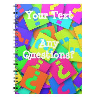 ¿Preguntas? Cuaderno