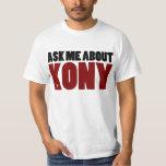 Pregunte por la pregunta de José Kony de la parada Camiseta