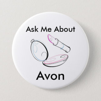Pregúnteme acerca de Avon - botón redondo