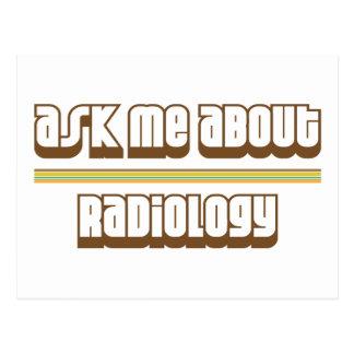 Pregúnteme acerca de la radiología postales