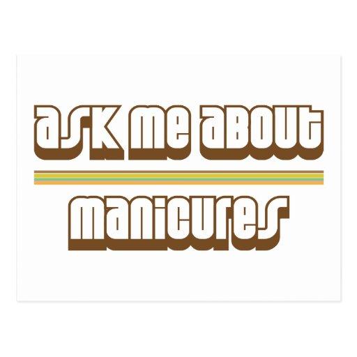 Pregúnteme acerca de manicuras postales