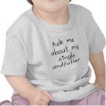 Pregúnteme acerca de mi solo padrino camisetas