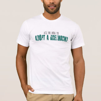 Pregúnteme cómo adoptar una camisa del galgo