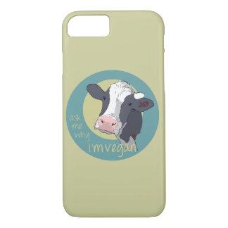 Pregúnteme porqué soy vegano funda iPhone 7