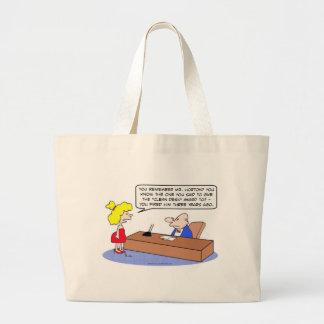 premio limpio del escritorio encendido bolsas