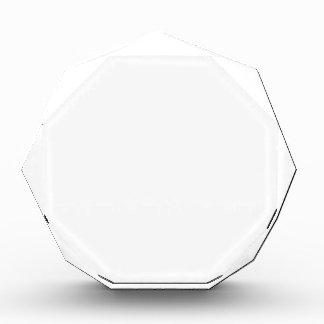 Premio Octagonal Personalizado