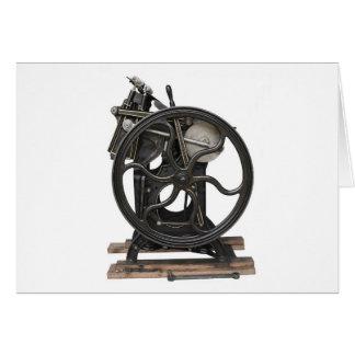 prensa de copiar a partir de 1901 tarjeta