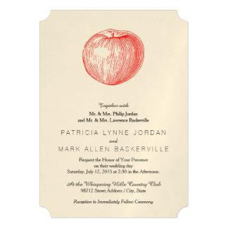 Prensa de copiar roja Apple de Apple de caramelo Anuncio