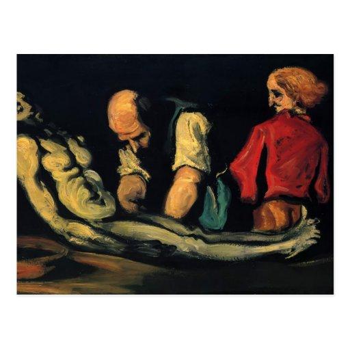 Preparación de Paul Cezanne- para el entierro Postales