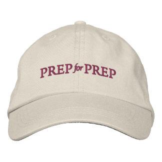 Preparación para el gorra de la preparación