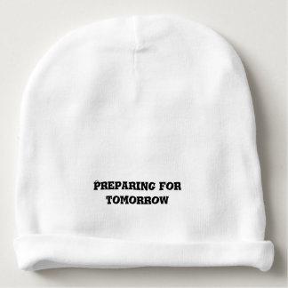 Preparación para el texto de la mañana gorrito para bebe