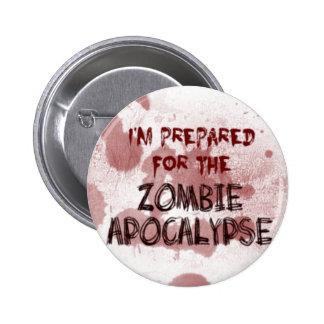 Preparado para el botón de la apocalipsis del zomb