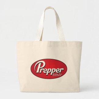 Preparado y aliste bolsa