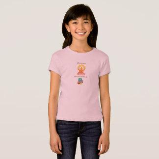 """""""Presencia sobre la camiseta del chica de los"""