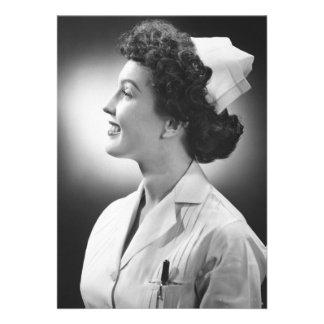 Presentación de la enfermera invitacion personalizada