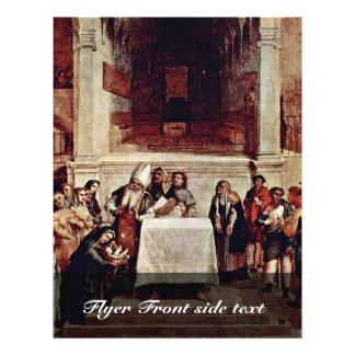 Presentación en el templo por la loteria Lorenzo ( Flyer A Todo Color
